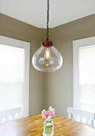 nordic simple orb clear glass pendant lighting. Eye Catching Lowes Kitchen Ceiling Light Fixtures On Simple Design Lighting  How To Nordic Simple Orb Clear Glass Pendant Lighting