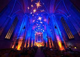 Nice Stimmungsvolle Beleuchtung In Der Marktkirche Hannover