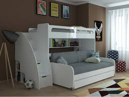 bunk bed with desk. -21% Bel Mondo Twin Over XL Bunk Bed With Sofa, Desk And Trundle