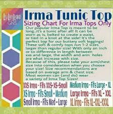 Lularoe Size Chart Irma Www Bedowntowndaytona Com