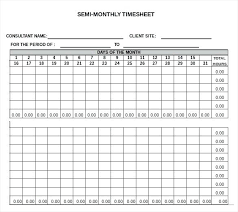 free weekly timesheet monthly timesheet template excel semi monthly template excel free