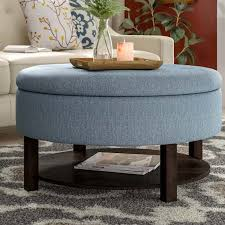 best ottoman coffee tables round