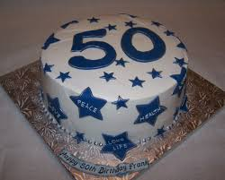50th Birthday Cake Buttercream Covered Cake And Fondant De Beth