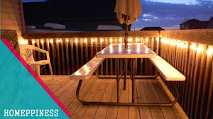 deck lighting. 30+ Stunning Deck Lighting Ideas - HOMEPPINESS K