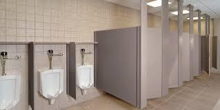 bathroom stall walls. Bathroom Stall Wall Height Half Of Commercial Feet Restrooms Asi Mirror Girl Walls