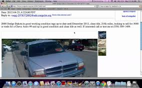 Craigslist Fresno CA Used Cars and Trucks - Vehicles Searched ...