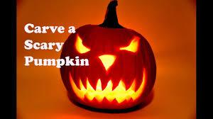 Cool Pumpkin Faces Pumpkin Carving How To Carve A Pumpkin Scary Pumpkin Carving