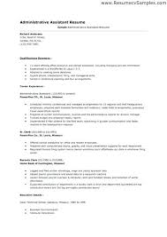 Functional Resume Example Template Word Microsoft 2010 Templates ...