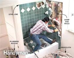 how to remove bathtub tile removing tile from bathroom wall remove bath tile interesting replacing bathroom