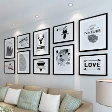 photo frame wall set gallery wall frame set home and wall decorations color black canada 2019 from gcz1688 cad 361 67 dhgate canada