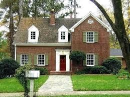 brick houses with red doors door colors for red brick houses red brick house with shutters brick houses with red doors