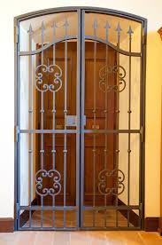 Iron Front Doors Single Iron Door Idps Wrought Iron Front - Iron exterior door