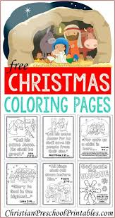 free christmas coloring pages with