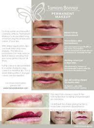 lip semi permanent makeup by tamara bonnar