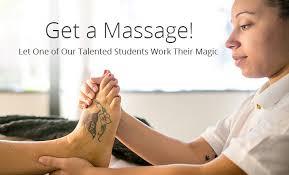 massage school los angeles. Delighful Massage Public Massage Clinics  Student Training  Therapy  Students Intended School Los Angeles National Holistic Institute