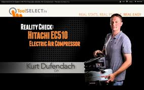 hitachi pancake air compressor. hitachi ec510 6-gallon 145 psi pancake electric air compressor - review \u0026 how to s
