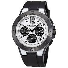 bvlgari diagono magnesium automatic chronograph men s watch 102305