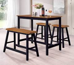 Amazoncom Kings Brand Furniture Slocum 4 Piece Counter Height