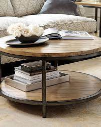 round coffee table living room