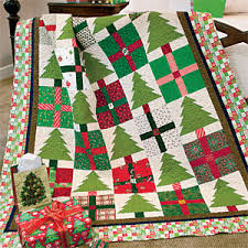 Pines & Presents: Cheerful Scrappy Christmas Lap Quilt Pattern ... & Pines & Presents: Cheerful Scrappy Christmas Lap Quilt Pattern Designed by  DIANE DRAGOVICH MOORE Made Adamdwight.com