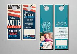 creative door hangers. Political Door Hangers Creative Print