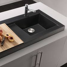 Sink With Cutting Board Modex Above Counter Kitchen Sink By Blanco Yliving