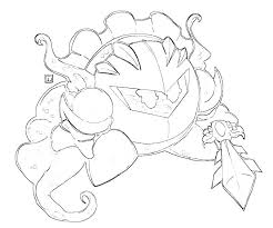 Small Picture Meta Knight Coloring Pages FunyColoring