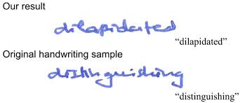 Cursive Chinese Doctors Note New Software Can Perfectly Forge Handwriting