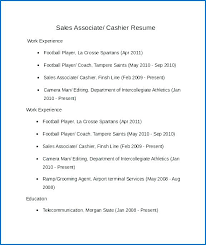 Resume Objective For Retail New Sample Retail Resume Objective 60 For Sales Associate No Experience