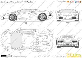 The-Blueprints.com - Vector Drawing - Lamborghini Aventador LP700 ...