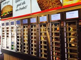 Vending Machine Amsterdam New The Vending Machines For Hot Food Picture Of FEBO Amsterdam