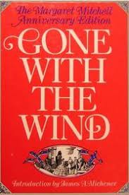 gone with the wind large print