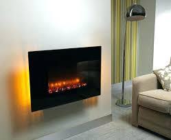 led lights over fireplace inside
