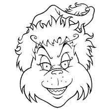 Grinch Coloring Page How The Grinch Stole Christmas Coloring Pages