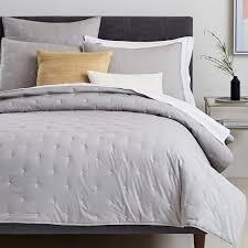 Organic Washed Cotton Quilt + Shams | west elm & Organic Washed Cotton Quilt + Shams Adamdwight.com