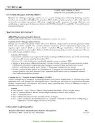 Valuable Service Manager Resume Objective Best Ideas Of Office