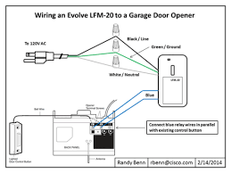 garage door wireHow to Wire an Evolve Relay Switch  SmartThings