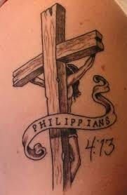 Tetování Křížek Na Krk