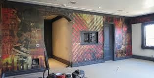Small Picture Graphic Wall Murals Wrap Up Interior Design Los Angeles CA