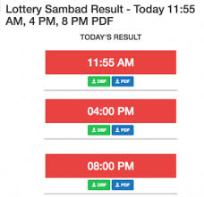 Ticket Chart Result Lottery Sambad Today Results 11 55 Am 4 Pm 8 Pm Pdf 2019