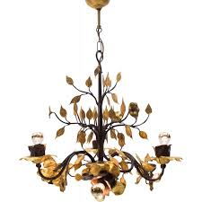 large french gilded wrought iron