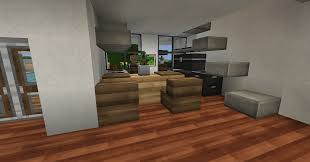 Minecraft Kitchen Xbox 145 Modern House Series Screenshots Show Your Creation