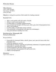 Dishwasher Job Resume Example are the occasions that we value you as a kind  of perspective can not make everything a terrific resume and right.