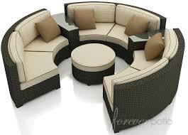 circular sofa set curved sectional sofa set 6 piece rounded sectional sofa circular sofa set
