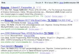 Resume Synonyms Best 1210 Challenging Google Resume Search Assumptions Boolean Black Belt