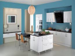 ... Kitchen Paint Colors With Dark Cabinets Particleboard Countertop  Covered In Grey Melamine Finish Pure Granite On