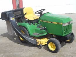 john deere 240 lawn tractor with bagger le april consignments 6 k bid