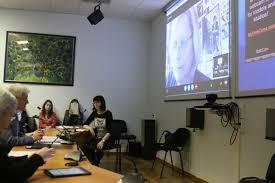 Новости rggu Защита проходила в формате телеконференции в которой приняли участие представители Российско итальянского центра Института Филологии и Истории РГГУ