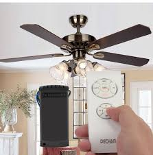 whole universal wireless ceiling fan lamp remote controller kit timing for ceiling fan incandescent led energy saving lamp 110v 220v wiimote nunchuk
