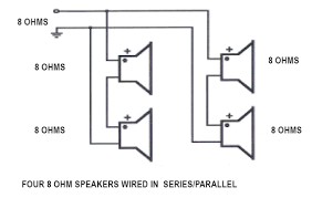 series parallel speaker wiring hometoys in reality this is just two sets of series speakers wired in parallel